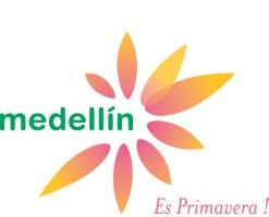 O logotipo de Medellin simboliza a primavera eterna