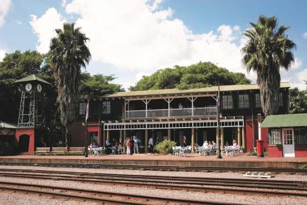 A estação de Rovos Rail Safaris na África do Sul