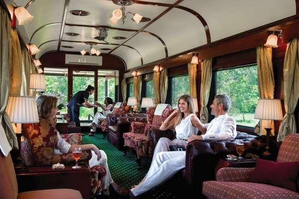Happy Hour Rovos Rail Safaris na África do Sul