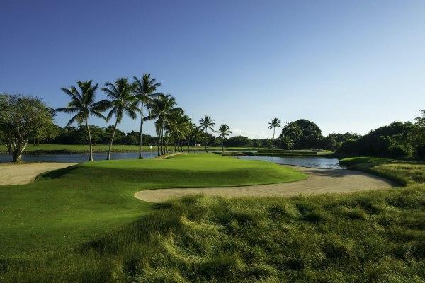 THe links um mais campo de golf no Casa de Campo - designed by PB Dye