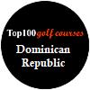 Top 100 campos de golfe no Republica Dominicana