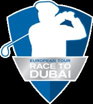 O logo de Race to Dubai