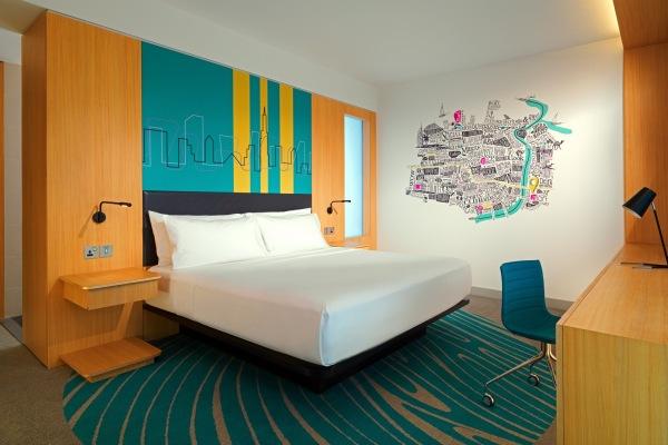 O apartemento King de hotel Aloft Dubai Creek