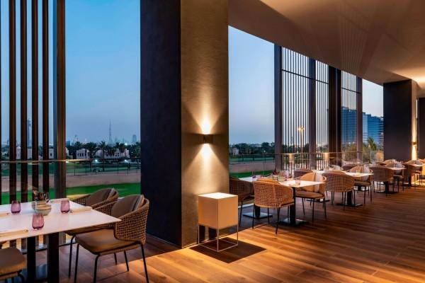 O restaurante The Canteen do Hotel Aloft Dubai Creek