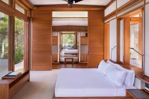 Dormitórios de uma casita do Resort Amanera na República Dominicana