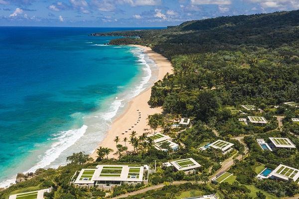 O resort de luxo Amarena na costa norte da República Dominicana