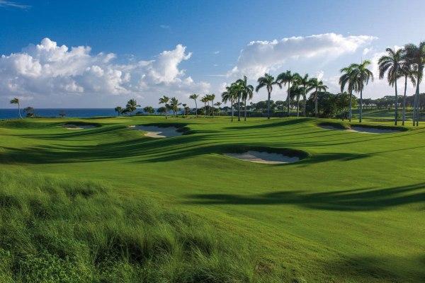 Robert Trent Jones projetou o campo de golfe Casa Grande na República Dominicana