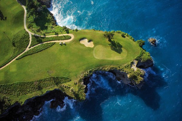 O campo de golfe Playa Grande na República Dominicana projetado por Robert Trent Jones