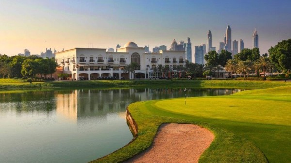 The Montgomerie Golf Course esta no hotel resort Adress