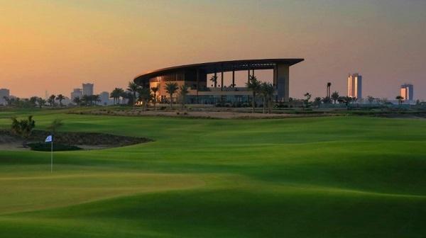 O golf club Trump International Dubai