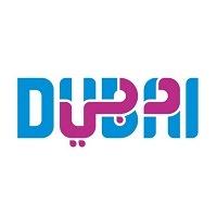 Logo de Visit Dubai turismo board