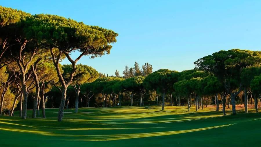 O campo de golfe Dom Pedro Millenium no Algarve