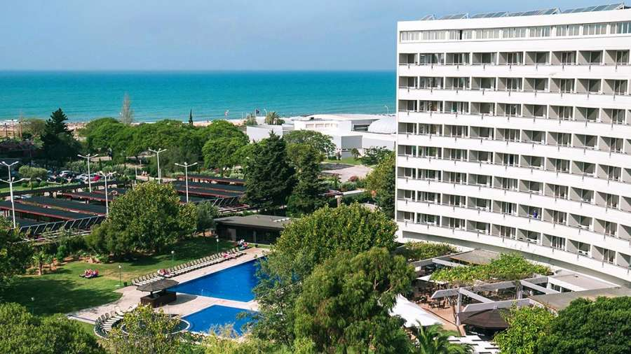 O hotel Dom Pedro Vilamoura fica no Algarve Portugal