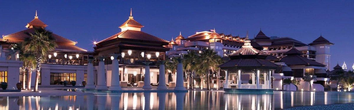 O hotel anantara no palm resort em Dubai